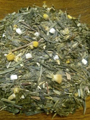 Зелёный чай Японская липа